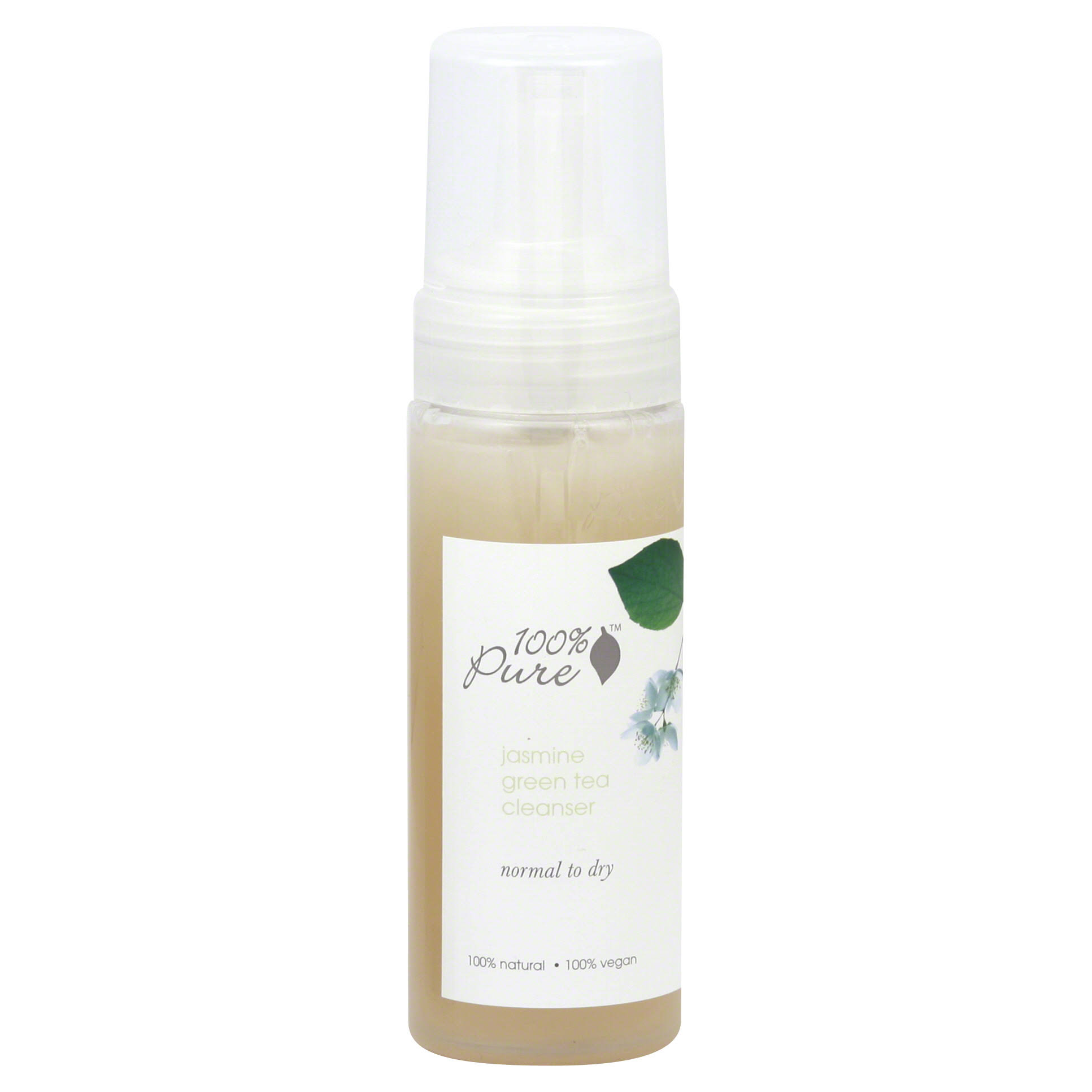 100% Pure Jasmine Green Tea Cleanser 6 oz
