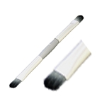 100% Pure Cruelty Free Double Ended Brush #3 (for lips or eyes)