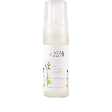 100% Pure Mint White Tea Cleanser 6 oz