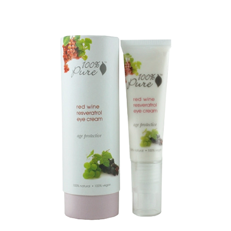100% Pure Red Wine Resveratrol Eye Cream 1oz