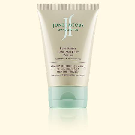 June Jacobs Peppermint Hand and Foot Polish 3.8oz