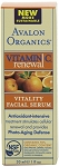 Avalon Organics Vitamin C Renewal Vitality Facial Serum 1 fl.oz.