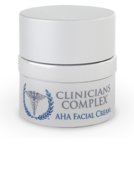 Clinicians Complex AHA Facial Cream 2 OZ