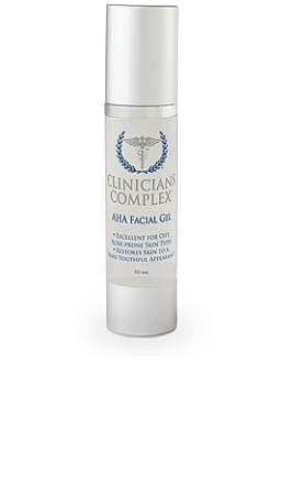 Clinicians Complex AHA Facial Gel 50 ml