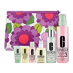 Clinique Great kit home and away kit for Skin types 3, 4 (Combination Oily and Oily)
