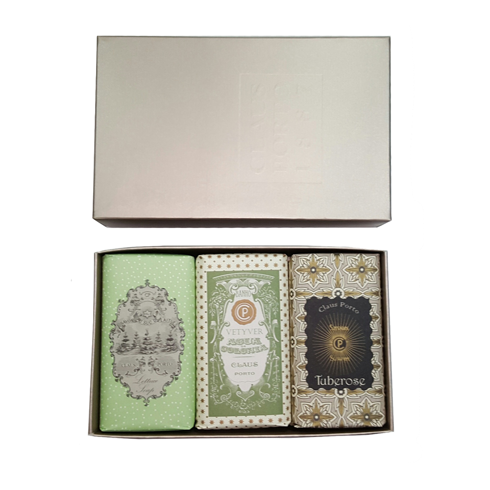 Claus Porto Platinum Soap Box of 3 Set #2