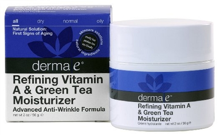 Derma E Anti-Wrinkle Vitamin A & Green Tea Advanced Creme 2 oz