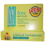 Jason Natural Products Earth's Best Toddler Toothpaste Strawberry & Banana 1.6 oz