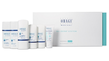 Obagi Nu-Derm Skin Transformation TRAVEL KIT Normal/Oily