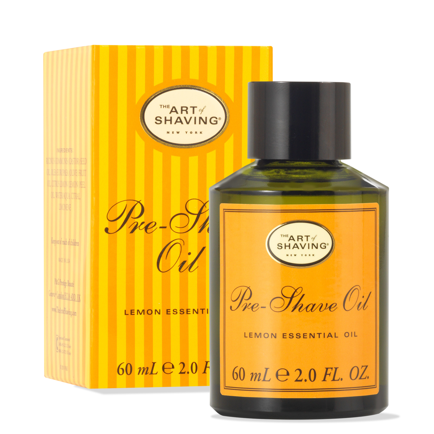 The Art Of Shaving: Pre Shave Oil - Lemon