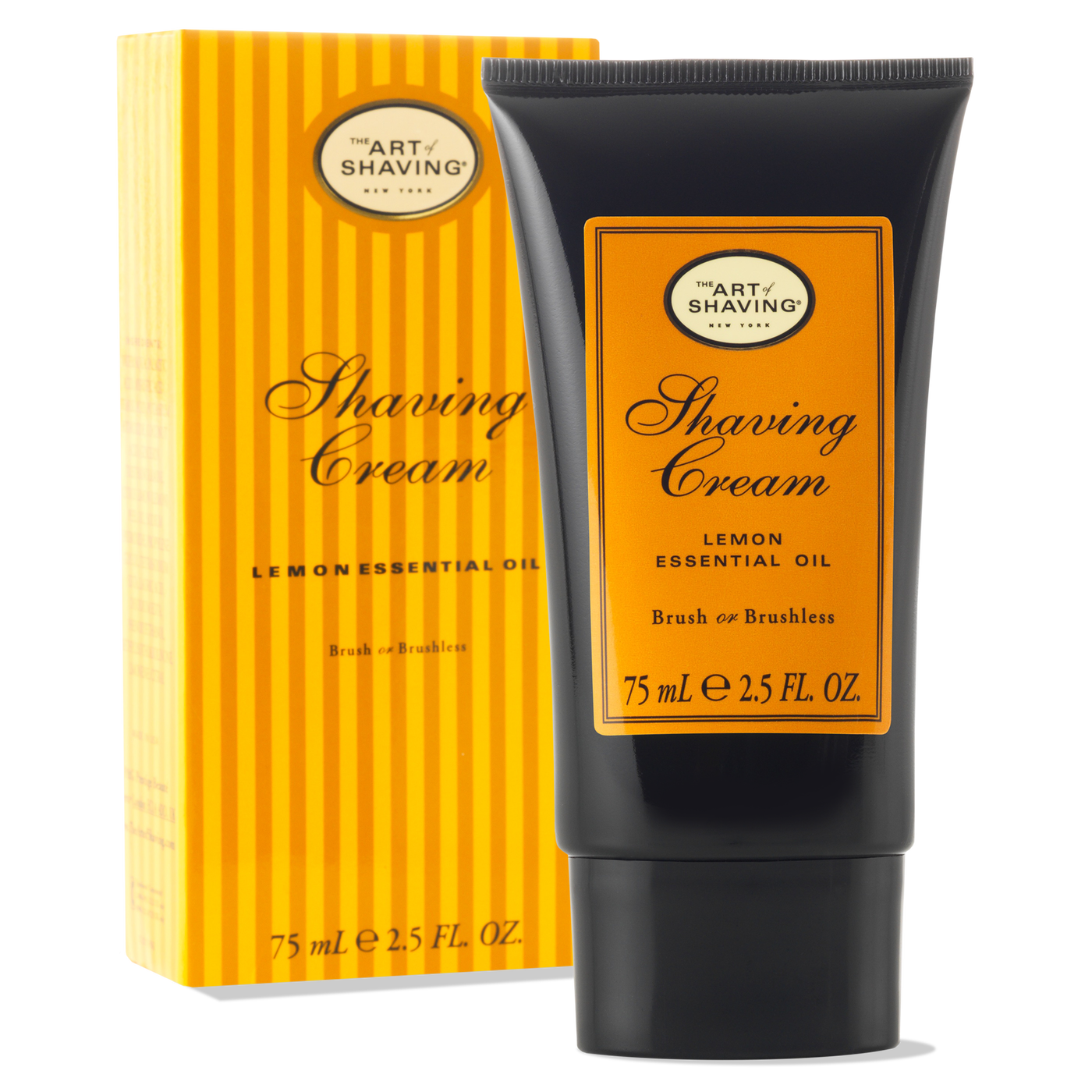 Shaving Cream Tube - Lemon