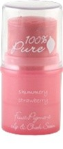 100% Pure Shimmery Strawberry Lip and Cheek Tint