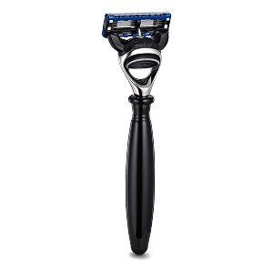 The Art Of Shaving: Fusion Black & Nickel Plated 5 Blade Razor