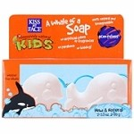 Kiss My Face Scentless Whale Soap Duo Pack 2 pc