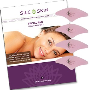 SilcSkin Facial Pad (multi-area set)