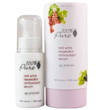 100% Pure Red Wine Resveratrol Antioxidant Serum 1oz