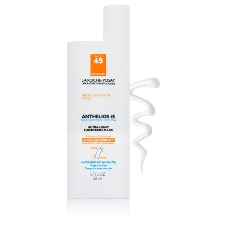 La Roche-Posay Anthelios 45 Face Ultra Light Sunscreen 1.7 fl oz.