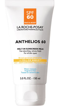 La Roche-Posay Anthelios 60 Body Milk Sunscreen - 5.0 fl oz.