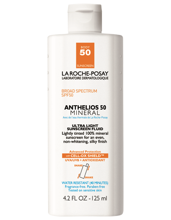 La Roche-Posay Anthelios 50 Body Mineral Tinted Sunscreen 4.2 fl oz.