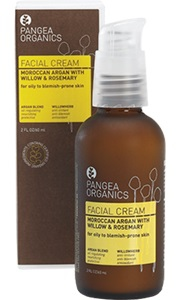 Pangea Moroccan Argan with Willow & Rosemary Facial Cream 2 oz / 59 ml