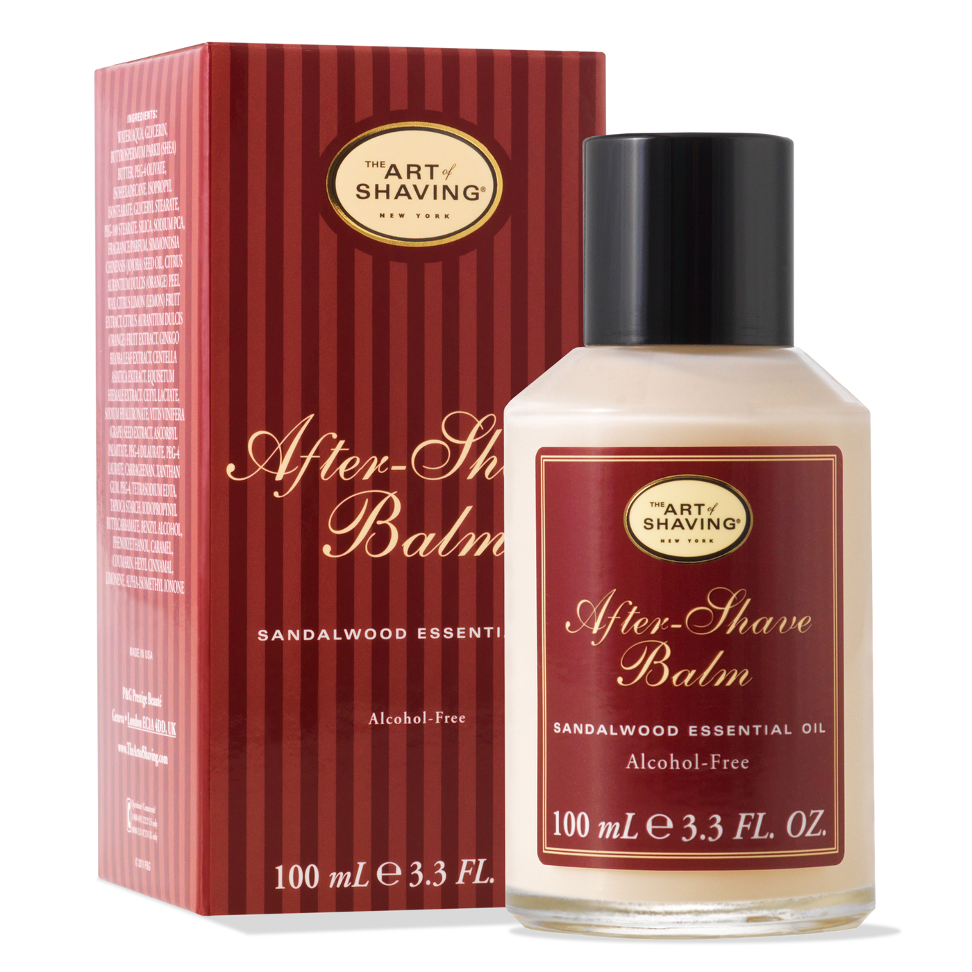 The Art Of Shaving: After Shave Balm - Sandalwood  3.3 oz.