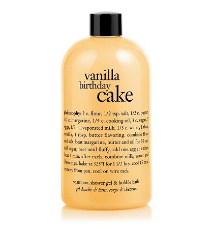 Home Bath Body Philosophy Vanilla Birthday Cake Care For Unisex 16 Ounce
