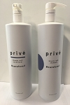 Prive blonde rush shampoo & conditioner set 947ml  32 0z. ea.