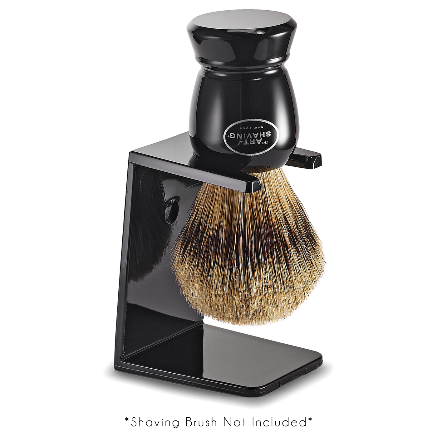 The Art Of Shaving: Brush Stand Black