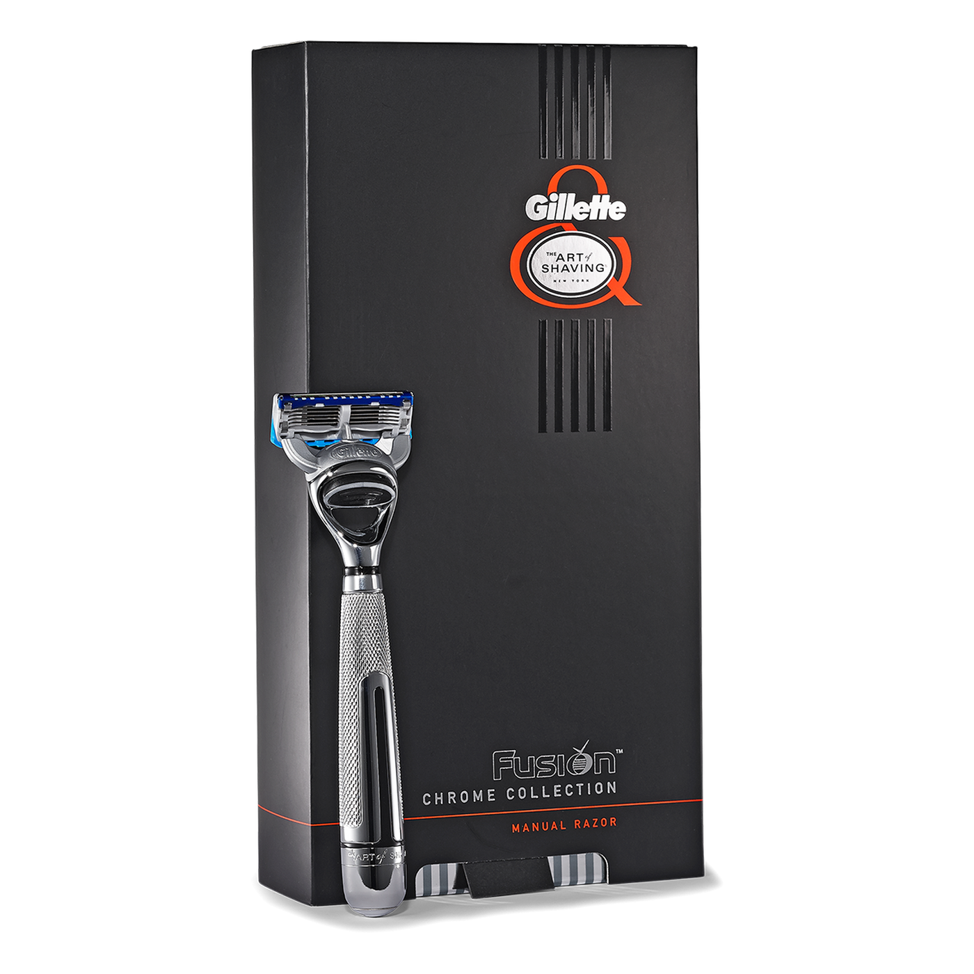 The Art Of Shaving: Fusion Chrome Collection 5 Blade Manual Razor