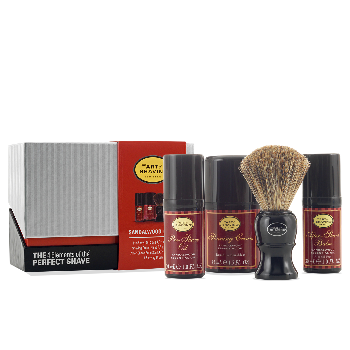 The Art Of Shaving: Mid Size Kit - Sandalwood