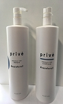 Prive moisture rich shampoo & conditioner set 947ml 32 oz. ea.