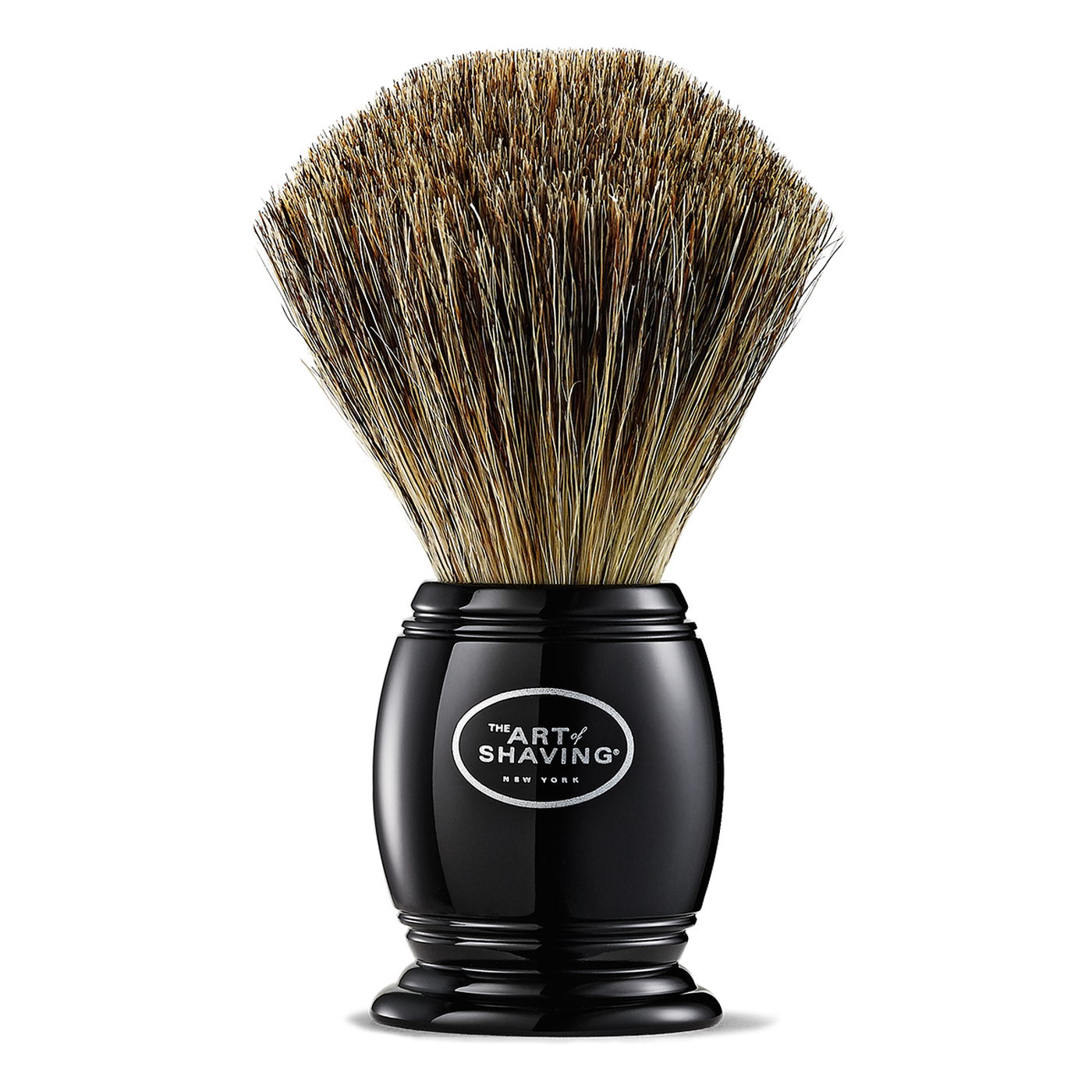 The Art Of Shaving: Pure Badger Shaving Brush - Black