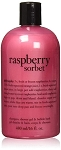Philosophy Raspberry Sorbet Bath and Shower Gel for Unisex, 16 Ounce