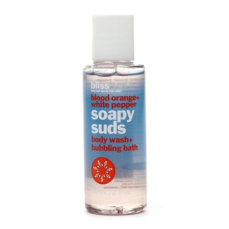 Bliss Blood Orange + White Pepper Soapy Suds Mini 2 oz