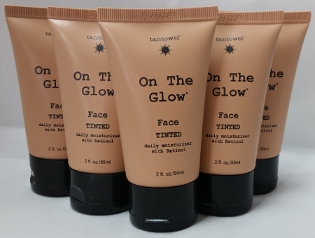 Tan Towel On The Glow Face 2oz 6-Pack