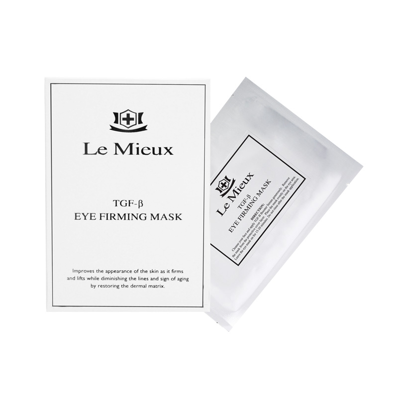 Le Mieux TGF-B Eye Firming Mask - 4 pc