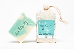 Bonblissity Rosemary Mint Vegan Soap