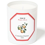 Carriere Freres poire candle (Pear) 6.5 oz.