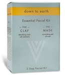 "Down to Earth ""The Essential Facial Kit"" Clay & Mask"