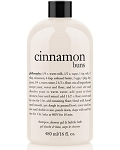 Philosophy Cinnamon Buns Shampoo, Shower Gel and Bubble Bath, 480 ml/16 oz