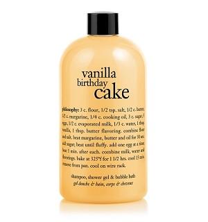 Philosophy Vanilla Birthday Cake Bath Care For Unisex 16 Ounce