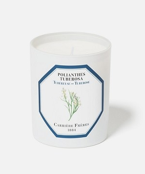 Tuberose Polianthes Tuberosa Candle By Carriere Freres
