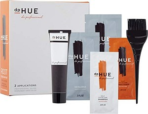 DpHue root touch-up kit Light Brown