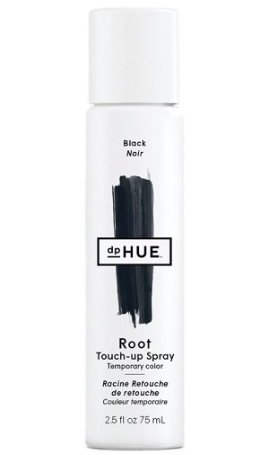 dpHue color touch-up spray black 2.5 oz.