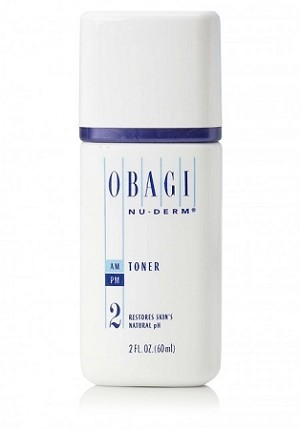 Obagi Nu-Derm Toner (2) Travel Size 2 oz / 60 ml