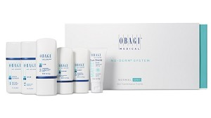 Obagi Nu-derm Fx system, Travel size kit of 5 for Normal to Dry skin