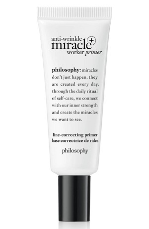 Philosophy Anti-Wrinkle Miracle Worker Primer + Line-Correcting Primer, Size 0.9 oz - No Color