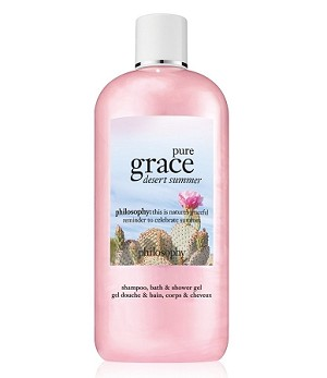 Philosophy Pure Grace Desert Summer Shower Gel 16 oz.