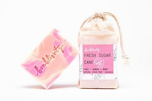 Bonblissity Fresh Sugar Cane Vegan Soap